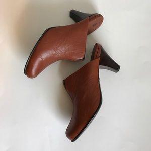 Born Leather Mules